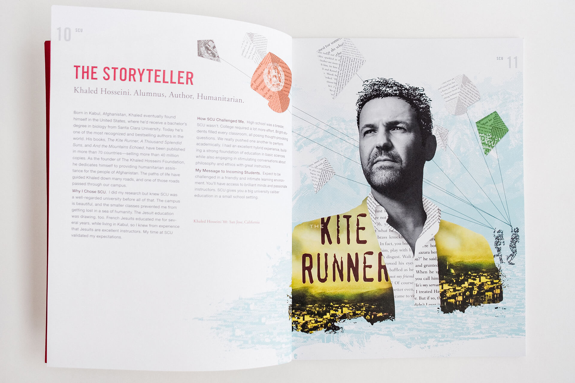 Kite Runner catalog spread